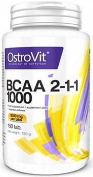 OstroVit - BCAA 2-1-1 1000 (150таб) - фото 5468