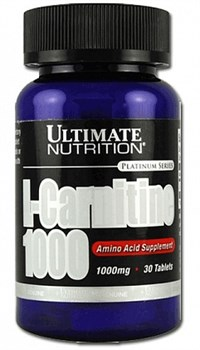 Ultimate Nutrition L-Carnitine 1000mg (30таб) - фото 5469