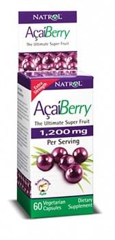 Natrol - AcaiBerry (60капс) - фото 5512