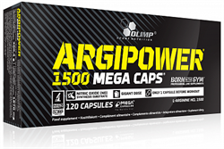 Olimp Argi Power Mega Caps 1500mg (120капс) - фото 5538