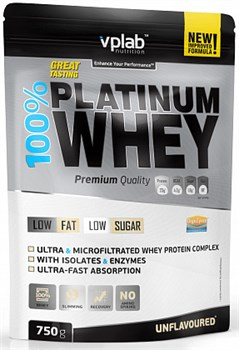 VP Laboratory 100% Platinum Whey (750гр) - фото 5789