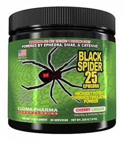 Cloma Pharma - Black Spider POWDER (210гр) - фото 5814