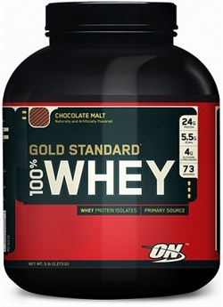 Optimum Nutrition 100 % Whey Gold Standard Europe (2270гр) - фото 5828