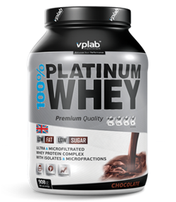VP Laboratory 100% Platinum Whey (908гр) - фото 5839
