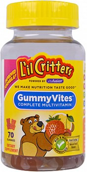 L'il Critters Gummy Vites complete multivitamin (70жев.таб) - фото 5855