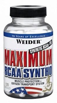 Weider Maximum BCAA Syntho (120капс) - фото 5863
