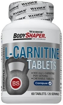 Weider L-Carnitine Tablets (60таб) - фото 5867