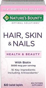 Nature's Bounty Hair Skin Nails (60капс) - фото 5898