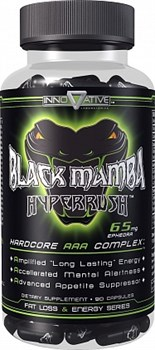 Innovative Labs - Black Mamba Hyperrush (90капс) - фото 5909