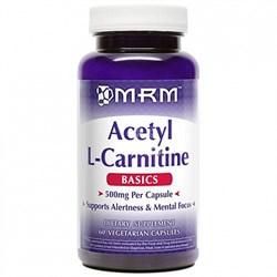 MRM - Acetyl L-Carnitine 500mg (60капс) - фото 6007