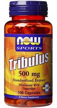 NOW Tribulus 500 mg (100капс) - фото 6010