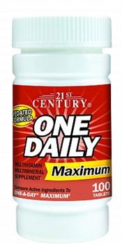 21st Century One Daily Maximum (100таб) - фото 6011
