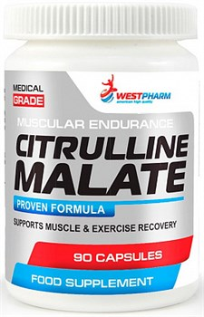 WESTPHARM Citrulline Malate 500mg (90капс) - фото 6014