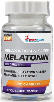 WESTPHARM - Melatonin 5mg (60капс) - фото 6015
