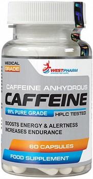 WESTPHARM Caffeine 100mg (60капс) - фото 6031