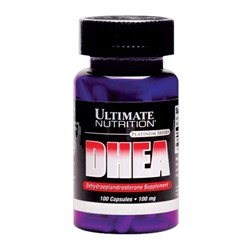 Ultimate Nutrition - DHEA 100mg (100капс) - фото 6044