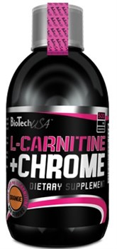 BioTech USA Liquid L-Carnitine + Chrome (500мл) - фото 6051