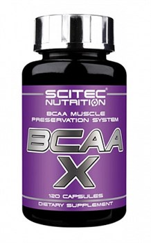 Scitec Nutrition BCAA-X (120капс) - фото 6059