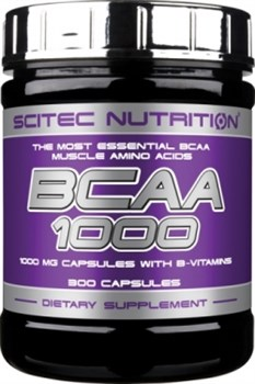 Scitec Nutrition BCAA 1000 (300капс) - фото 6067