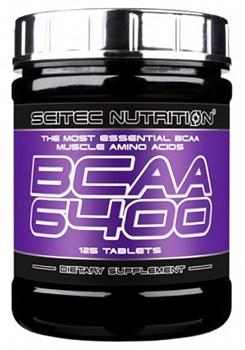 Scitec Nutrition BCAA 6400 (125таб) - фото 6072
