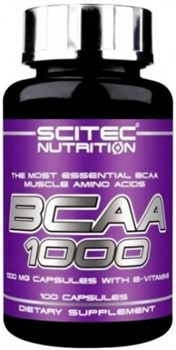 Scitec Nutrition BCAA 1000 (100капс) - фото 6074