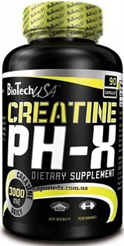 BioTech USA Creatine PH-X (90капс) - фото 6090