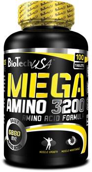 BioTech USA Mega Amino 3200 (100таб) - фото 6097