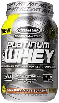 MuscleTech Essential Platinum 100% Whey (908гр) - фото 6112