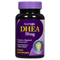 Natrol - DHEA 50 mg (60таб) - фото 6407