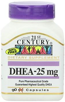 21st Century DHEA 25mg (90капс) - фото 6408