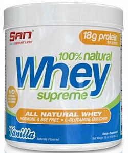 SAN 100% Natural Whey Supreme (450гр) - фото 6417