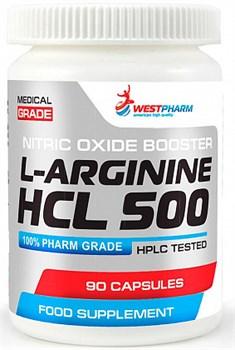 WESTPHARM L-Arginine HCL 500 (90капс) - фото 6426
