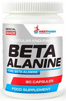 WESTPHARM Beta Alanine 500mg (90капс) - фото 6427