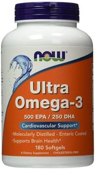 NOW - Ultra Omega-3 (180гел.капс) - фото 6434