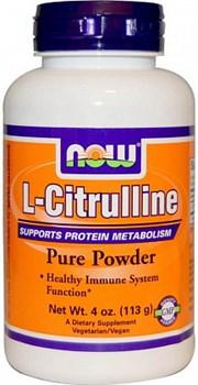 NOW L-Citruline Powder (113гр) - фото 6438