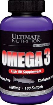 Ultimate Nutrition Omega 3 (180капс) - фото 6457