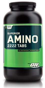 Optimum Nutrition Super Amino 2222 (320таб) - фото 6458