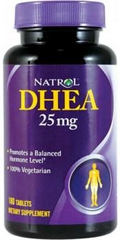 Natrol - DHEA 25 mg (180таб) - фото 6499