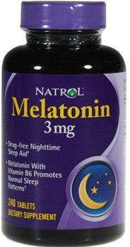 Natrol - Melatonin 3mg (240таб) - фото 6504