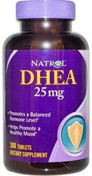 Natrol - DHEA 25 mg (300таб) - фото 6522