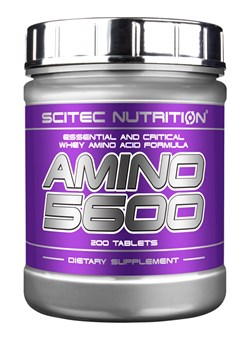 Scitec Nutrition Amino 5600 (200таб) - фото 6538