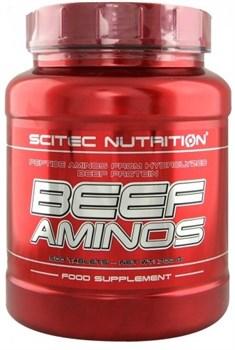 Scitec Nutrition - Beef Aminos (500таб) - фото 6550