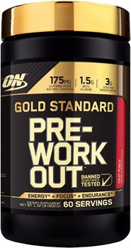 Optimum Nutrition - Gold Standard PRE-Workout (600гр) - фото 6555