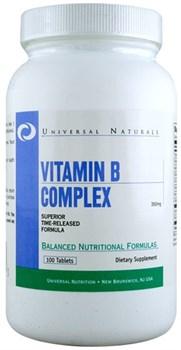 Universal Nutrition Vitamin B Complex (100таб) - фото 6596