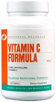 Universal Nutrition Vitamin C Formula (100таб) - фото 6597