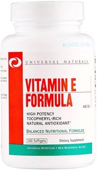 Universal Nutrition Vitamin E Formula (100капс) - фото 6598