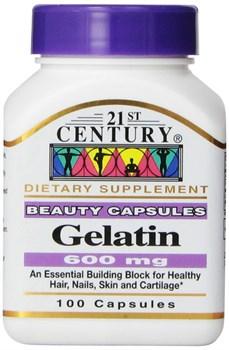 21st Century Gelatin 600mg (100капс) - фото 6612