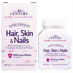 21st Century Hair,Skin & Nails (90таб) - фото 6613