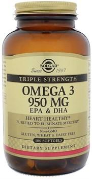 Solgar Omega 3 950mg (100капс) - фото 6618