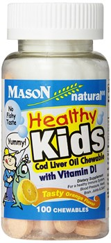 Mason Naturals Healthy Kids with Vitamin D (100таб) - фото 6676